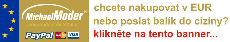 Chcete nakupovat v EUR nebo poslat balík do ciziny? Klikněte na tento banner...